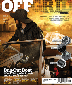 Off Grid Magazine features Armourcard as a must have product